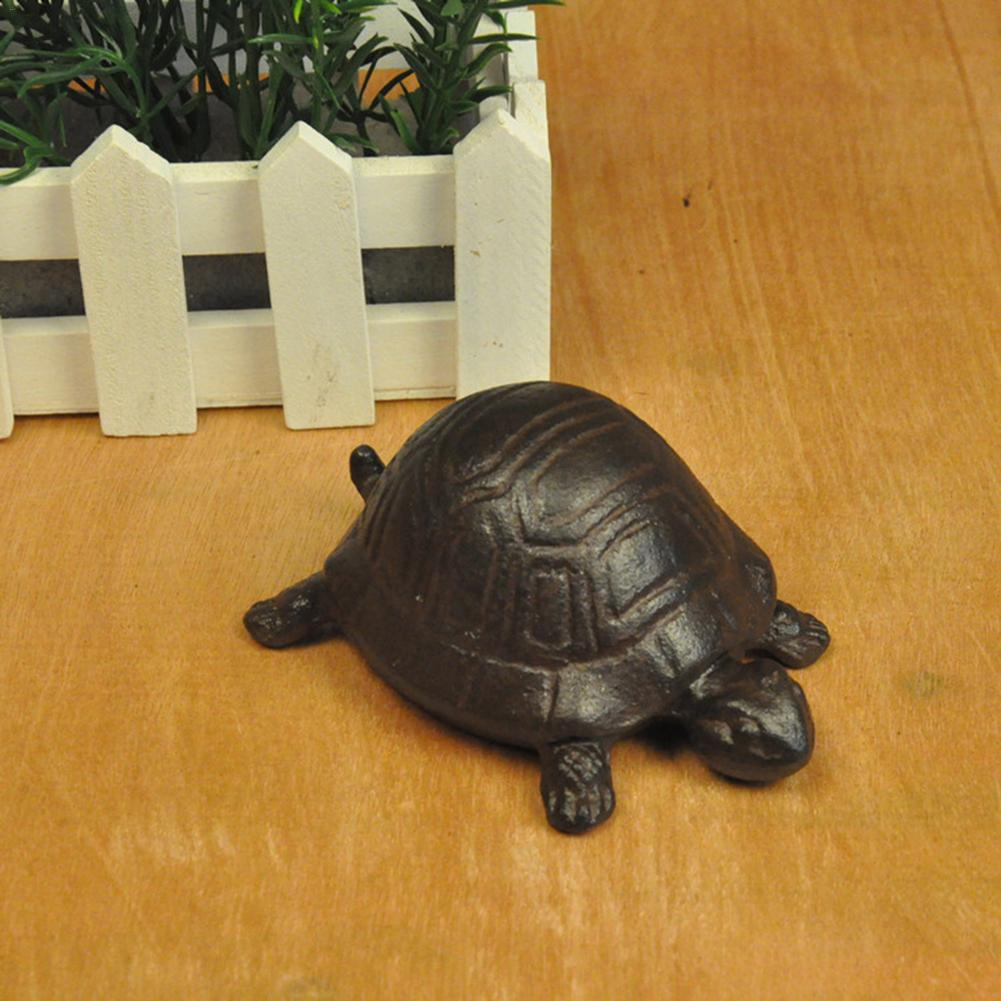 Iron Creative Turtle Tortoise Key Box Jewelry Box Retro Storage Box Gardening Decoration in Storage Boxes Bins from Home Garden