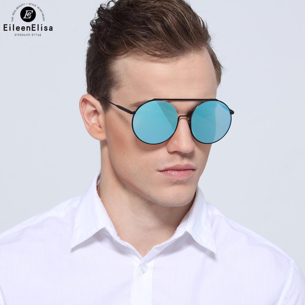 700f90d2e2393 EE New Arrival Steampunk Mens Sunglasses Marca Designer Oversize Óculos De  Sol Redondos Homens Moda óculos de Sol Espelhados