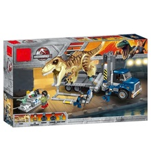 Legoing Jurassic World Park Figures Blocks Indominus Rex Dinosaur Compatible Legoings 75933