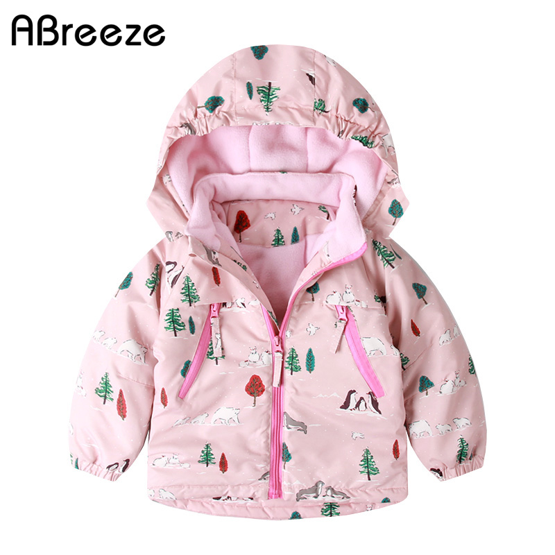 New european winter children clothing 2T 9T warm waterproof girls down & parkas casual tree penguin print outerwear for girlsNew european winter children clothing 2T 9T warm waterproof girls down & parkas casual tree penguin print outerwear for girls