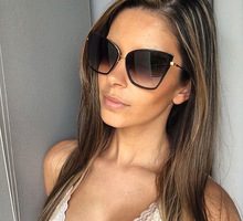 SOLO TU New Fashion Trend Superstar Style Cateye Women Men Sunglasses Brand Designer Vintage Luxury Sunglasses UV400 Protection