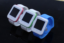 20 stücke bluetooth smart watch u9 reloj inteligente tragbare geräte smartwatch für apple huawei xiaomi android telefon pk gt08 dz09