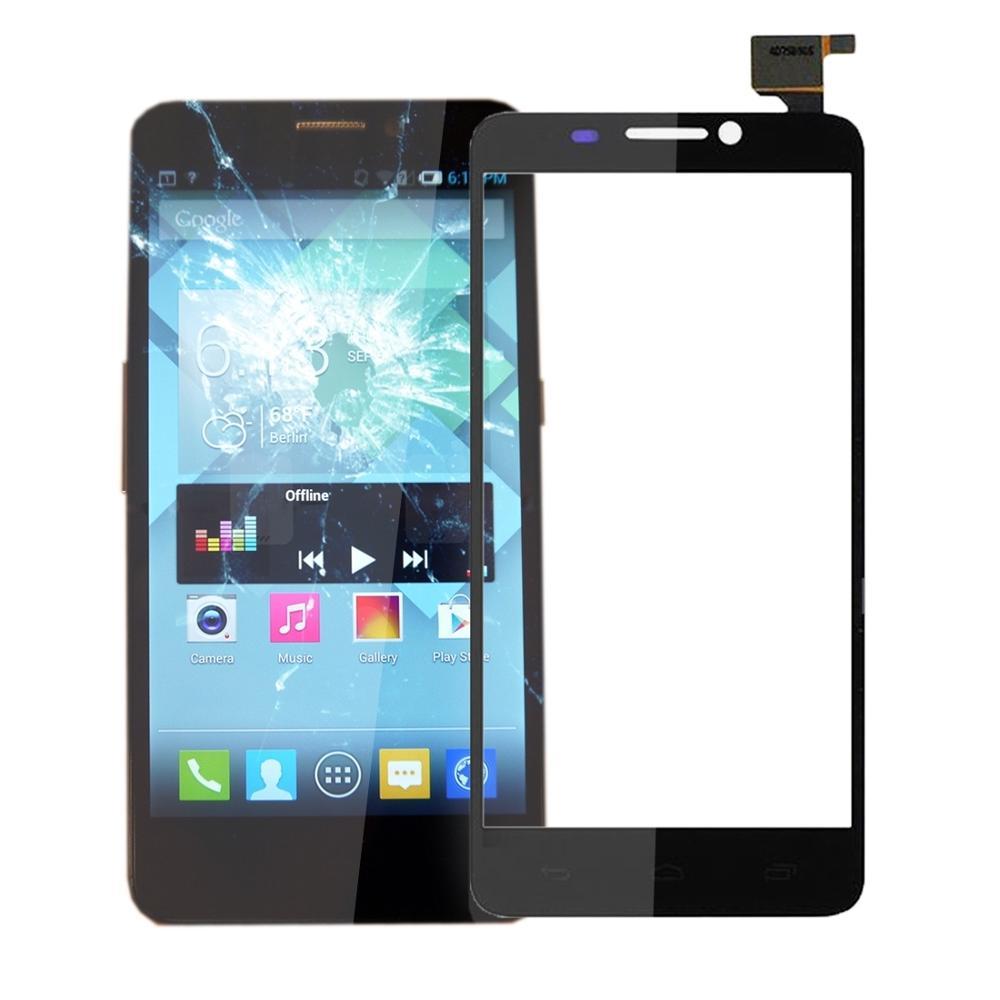 Dokunmatik ekran Dokunmatik Panel Alcatel one Touch Idol S için/6034/OT6034 dokunmatik ekran digitizer Sensörü Lens Ön Cam Değiştirme|Cep Telefonu Dokunmatik Paneli|   -