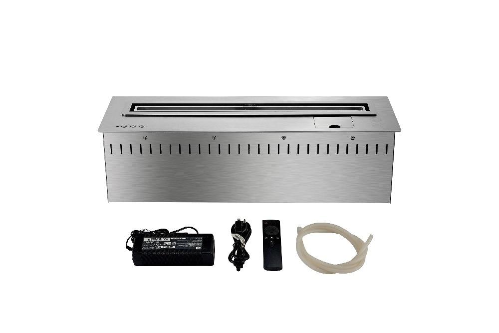 24 inch intelligente remotee controle ethanol moderne zwart of zilver tuin haard - 4