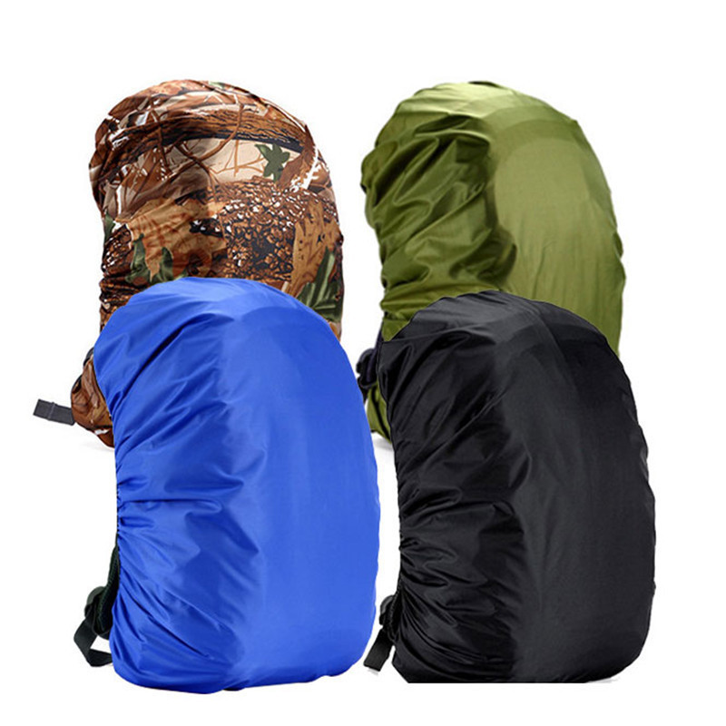 45L/55L/70L/80L Protable Waterproof Rain Cover For Backpack Camping Hiking Cycling School Travel Kits 35L