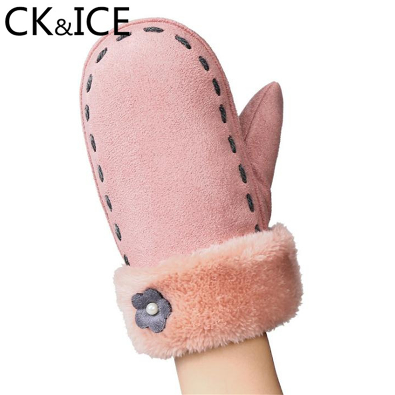 CK&ICE New Arrival Kids Luva Boys & Girls Comfortable Keep Warm Winter Gloves Rope Full Finger Gloves Mittens Children Mitaine