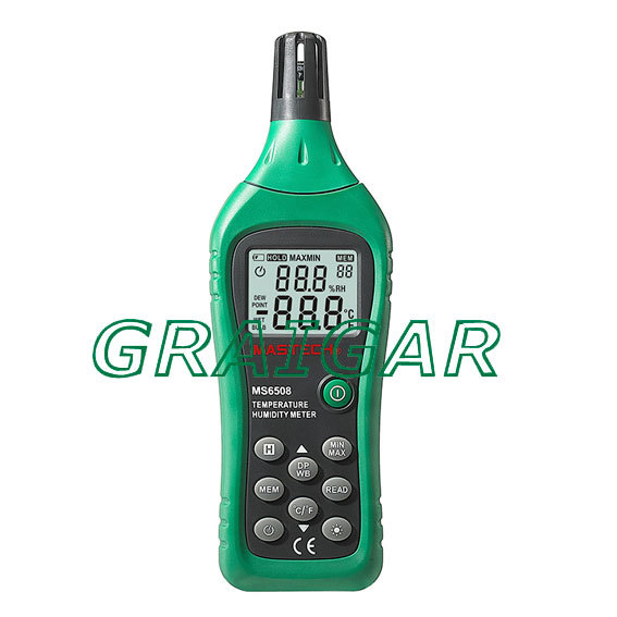 Free Shipping, Industrial grade high-precision humidity table the MS6508 Temperature Humidity Meter taie thermostat fy800 temperature control table fy800 201000
