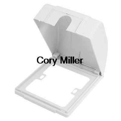 weatherproof electircal enclosure wall plate socket external box