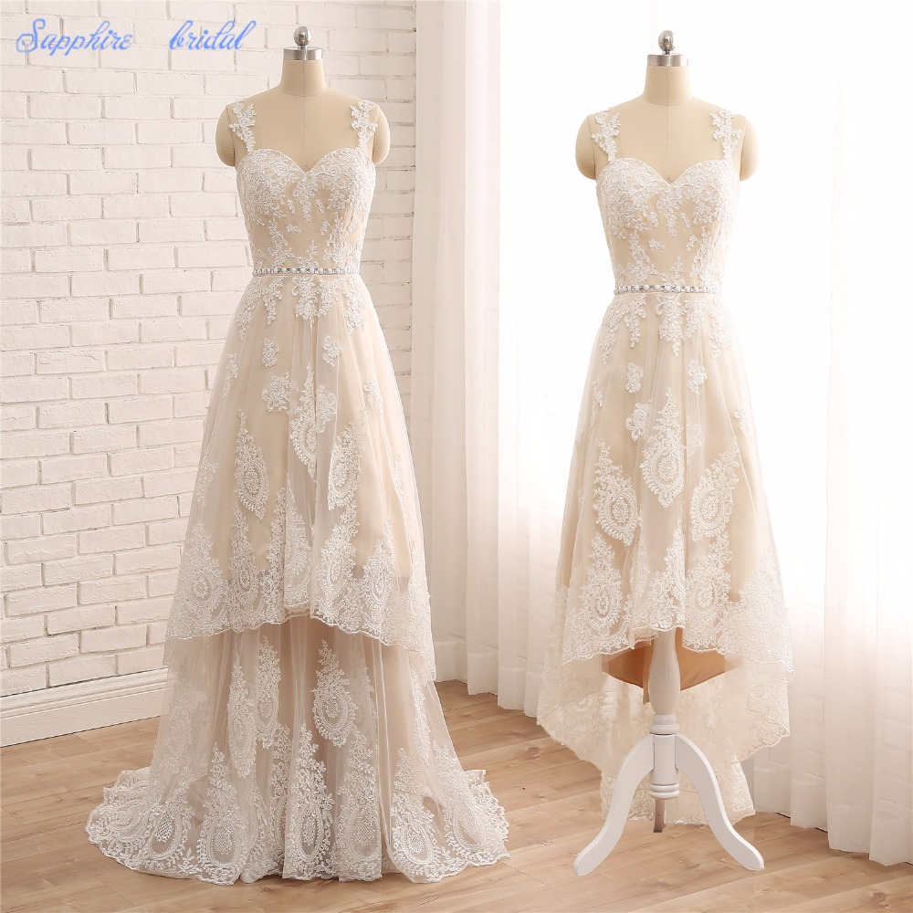 Hi Lo Wedding Gowns: Aliexpress.com : Buy Sapphire Bridal Vestido De Noiva