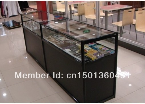 Jewelry Showcase Display Cabinet Vitrine Gl Shelves Phone Counter Cabinets