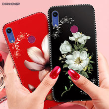 3D Flower Luxury Case For Huawei Honor 8C 8A 7C 7A P30 P20 Lite Pro Cover Mate 20 P Smart 2019 LYO-L01 Y7 Y6 Prime 2019 Y5 2018(China)
