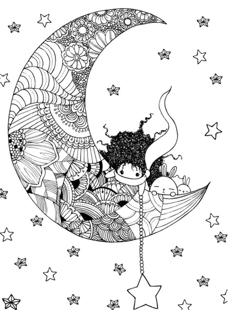 Colour Pen Is The Magic Wand Coloring Book For Kids Adults