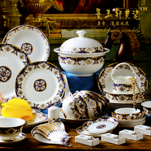 christmas Guci European style dinnerware sets Phnom Penh Bone China 60 PECES Jingdezhen ceramics household bowls dishes