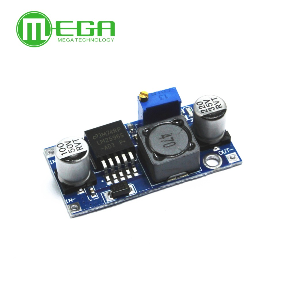 Image 2 - CF 100pcs LM2596 LM2596S DC DC 4.5 40V adjustable step down power Supply module NEW ,High Quality Automation Kits-in Integrated Circuits from Electronic Components & Supplies