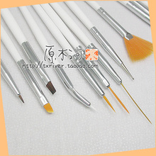 Painted suit 15pcs/set 1/3 1/4 1/6 doll blyth change makeup tools for blyth doll paint ob bjd sd doll accessories DIY Tools