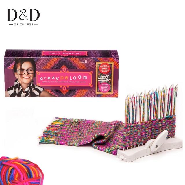 Dd Manual Weaving Loom Home Diy Knitting Loom Hobby Tool Kits