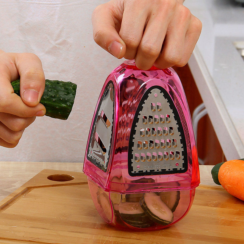 Graters Shredders And Slicers Fruit Vegetable Cutter Potato Carrot Device Flat Coarse Fine Ribbon Kitchen Tools