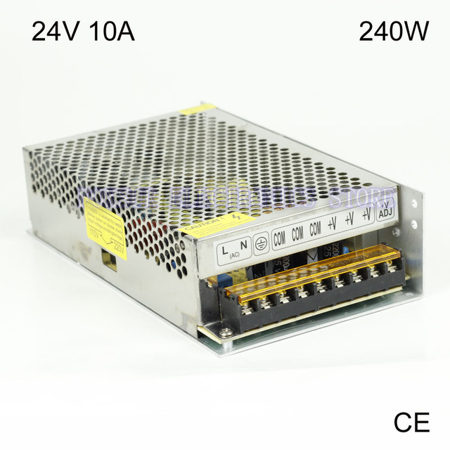 High quality 24v 10a 240w switching power supply driver for led high quality 24v 10a 240w switching power supply driver for led light strip led display mozeypictures Choice Image
