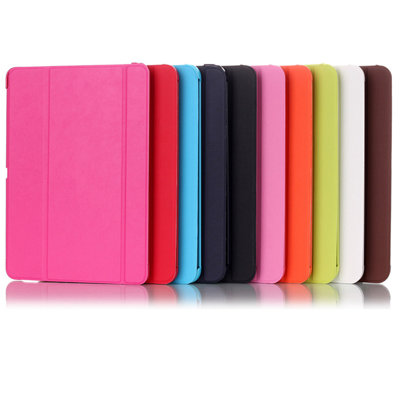 Slim PU Leather Smart Case For Samsung Galaxy Tab 4 T535 T530 T531 10.1 Inch High Quality Business Cover With Screen Protector butterfly flip pu leather for samsung galaxy tab 4 10 1 t530 case for samsung galaxy tab 4 t530 t531 t535 smart case cover