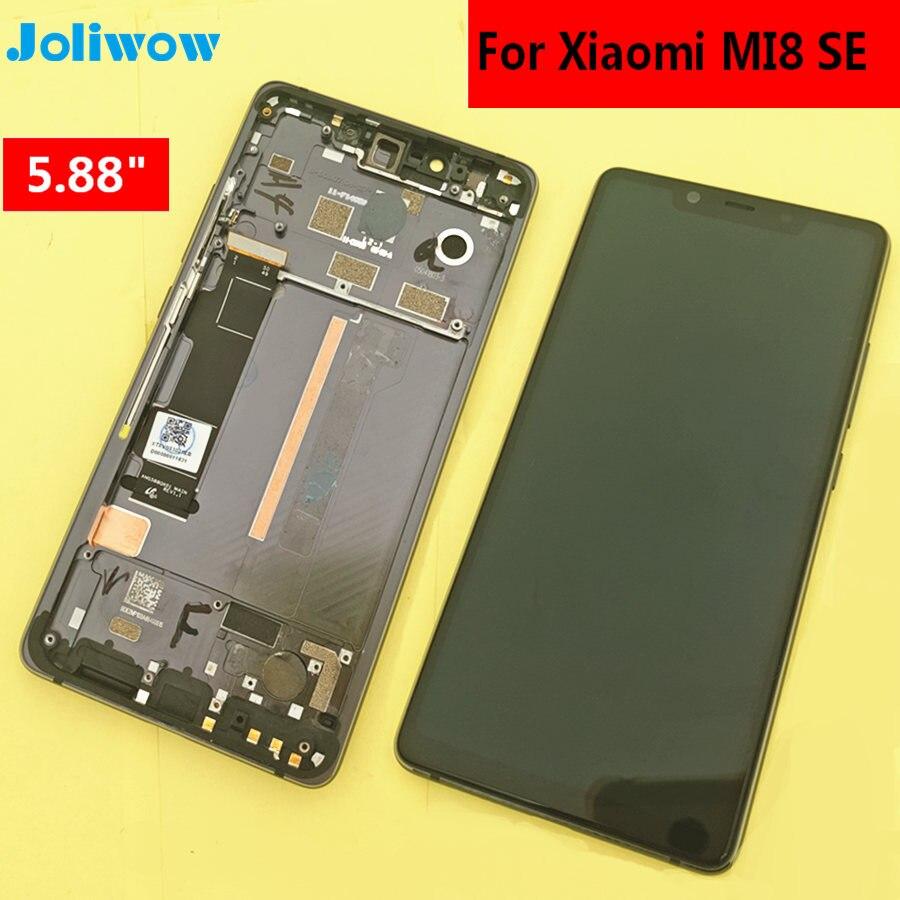 Тестирование! 5,88 для Xiao mi 8 SE mi 8 SE mi 8SE ЖК-дисплей + сенсорный экран с рамкой дигитайзер сборка Замена аксессуары