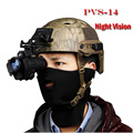 HD de visão noturna infravermelha binóculos caça táticas dos EUA PVS-14 Noite Digital Vision Monocular