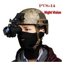 HD Infrared Night Vision Binoculars Hunting Tactics The US PVS 14 Digital Night Vision Monocular Free