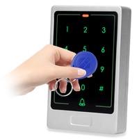 DIYSECUR 125 KHz RFID Card Reader Touch Pannello di Retroilluminazione Cassa del Metallo Password Tastiera per il Sistema di Controllo di Accesso Kit C20-in Tastierini per sistema di controllo accessi da Sicurezza e protezione su