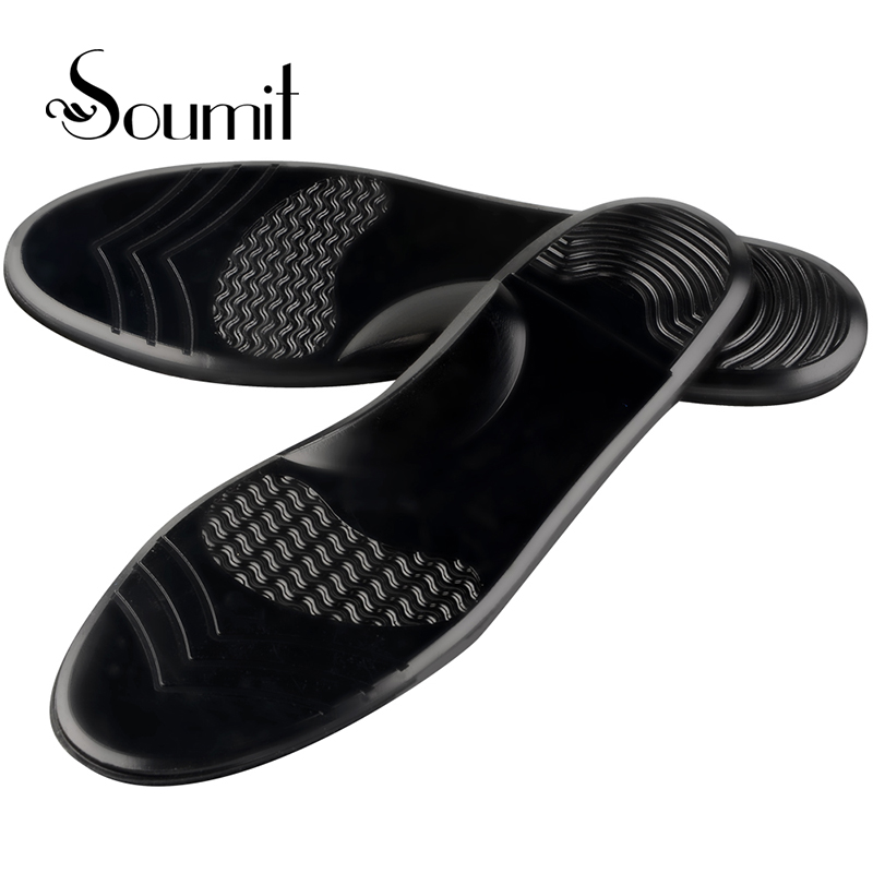 Soumit 3D Orthopedic Insoles Arch Support Pads Silicone Gel Pads Sport Running Shock Absorption For Man Women Flat Foot Insoles soumit soft memory foam insole shock absorption insole orthotics arch support running sport insoles for women men foot care pads
