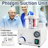 Portable Electric Dental Vacuum Phlegm Suction Unit Piston Pump Electric Medical Emergency Sputum Aspirator Machine Equipment