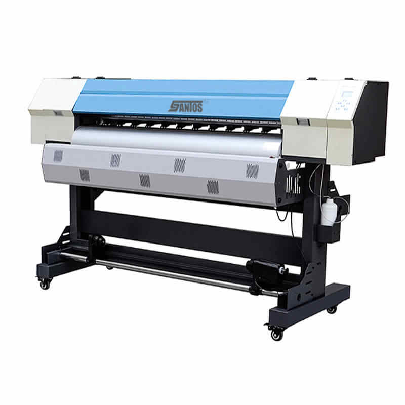 6ft/1.8 M Kecepatan Tinggi Pencetakan Format Besar Mesin dengan Dua DX5 Kepala Cetak Inkjet Pelarut Digital Layar Lebar printer