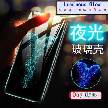 Huawei Onur Görünüm 20 Kapak Kılıf Işıltılı Temperli Cam arka kapak Için  Huawei P20 Mate 20 Lite Pro Nova 2 S 3 4 8X Max