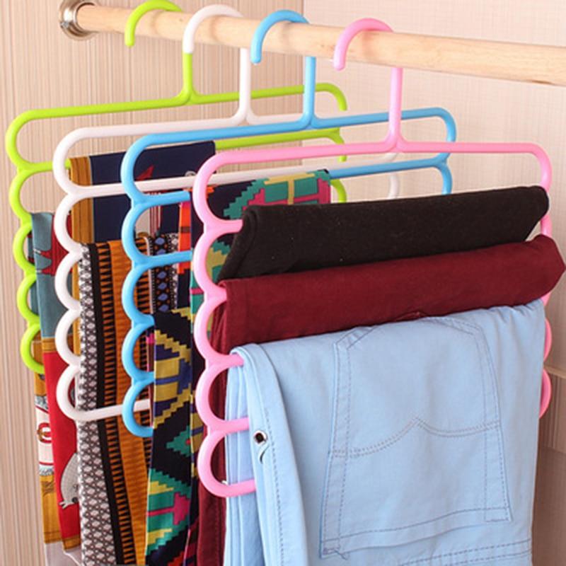 2018 1PC Hangers For Clothe Tie Scarf Storage Rack Flocking Round organizer