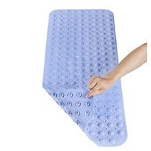 Модные душ, Ванна ковер безопасности Нескользящие коврики для ванной поставка удлиненные противоскользящие, для ванной душевая кабина Ванна 40x100 см