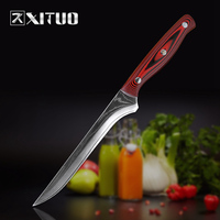 XITUO Pro Kitchen 6 inch Chef's Knife 67 layer Japanese VG10 Damascus High Carbon Stainless Steel Boning knife Ergonomic Equipme