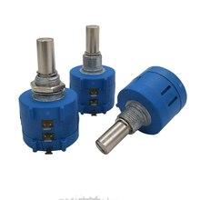 3590S-2-103L 3590s 10K Переключатель потенциометра 10 кольцо прецизионный регулируемый резистор многоповоротный потенциометр
