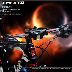 Image 5 - Hohe Qualität Aluminium Legierung 6061 Fahrrad Klapp Lenker Mountainbike MTB Lenker 25,4mm * 31,8mm * 620mm fahrrad Teil