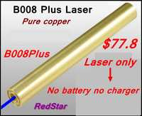 [Readstar] B008Plusブルーレーザーポインターレーザーペン高バーン