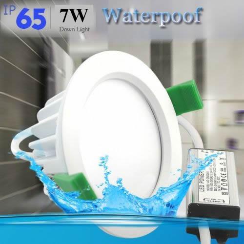 7w ip65 waterproof LED Downlights Fixture Bathroom Lights ...