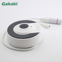 Gakaki 960P HD Home Security IP Camera Pan Tilt P2P IR Cut 3Pcs Array IR LED
