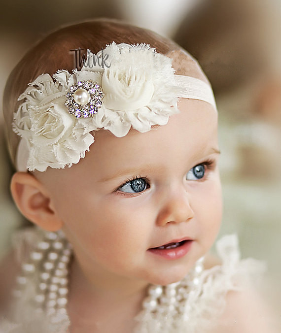 baby girl headband Infant hair accessories Flower newborn Headwear tiara headwrap band hairband Gift Toddlers bows clothes(China)