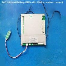 72V 20S akumulator litowo jonowy inteligentna płytka drukowana 84V Bluetooth BMS lub 60V Lifepo4 PCB z komunikacją UART z prądem 150A