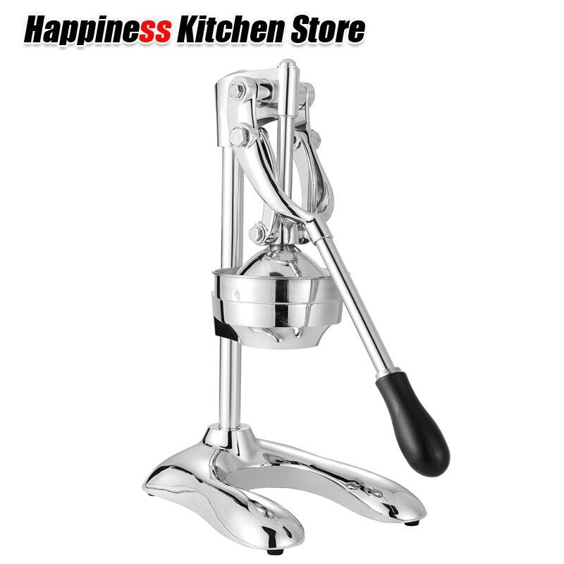 Presse-agrumes manuel en acier inoxydable presse-agrumes citron fruits légumes outils presse à main presse-agrumes robot culinaire Machine