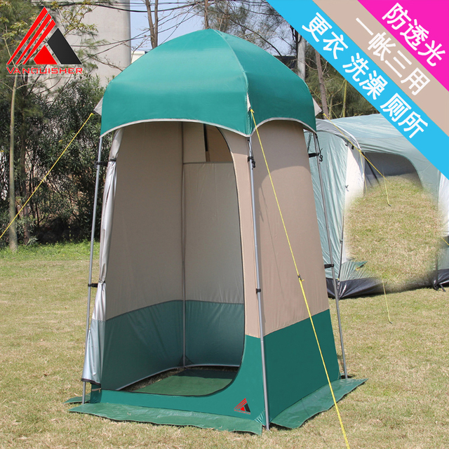 VANQUISHER 2017 New style easy operate c&ing shower tent/toilet/dressing changing room tent & Aliexpress.com : Buy VANQUISHER 2017 New style easy operate ...