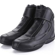 ARCX مقاوم للماء تسلق الجلد الحقيقي أحذية التنزه دراجة نارية سلامة والعتاد سباق الأحذية الشارع المروحية بجولة ركوب الأحذية