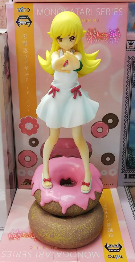 orinigal anime Figure Anime Monogatari Nisemonogatari Oshino Shinobu Painted PVC Action Figure Collection Model Toy SO10 high quality japanese amine fs good smile goodsmile bakemonogatari oshino shinobu 19cm pvc action figure model toys gift