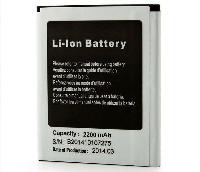 "Used Original Battery 2200mAh for CUBOT X6 5"" IPS OGS MTK6592 Octa Core Smartphone"