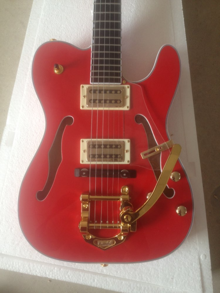 buy electric guitar 2015 electric guitar with glod color big tremolo guitar in. Black Bedroom Furniture Sets. Home Design Ideas