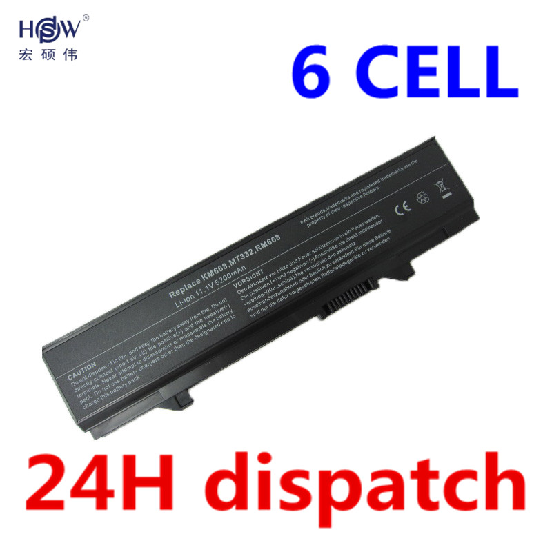 HSW Laptop Battery for Dell Latitude E5400 Latitude E5410 Latitude E5500 Latitude E5510 312-0762 312-0769 451-10616 KM742 KM769 high capcity 12 cells laptop battery for dell for inspiron 1100 1150 5100 5150 5160 for latitude 100l 312 0079 451 10183 u1223