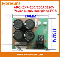 Fast Free Ship ARC ZX7 200 250AC220V Power Supply Backplane Capacitor Board Universal Inverter Welding Circuit