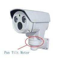 Pan Tilt Motor IP 960P Waterproof CCTV Camera With 2 Pcs Array LED For Long IR